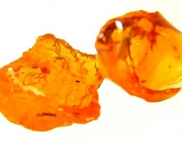 3.60 CTS MEXICAN FIRE OPAL ROUGH (2 pc) FOB-200