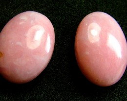 PINK OPAL -GRADE A - PAIR 12.35 CTS [VS1211 ]
