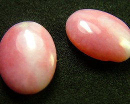 PINK OPAL -GRADE A - PAIR 14.45 CTS [VS1220 ]