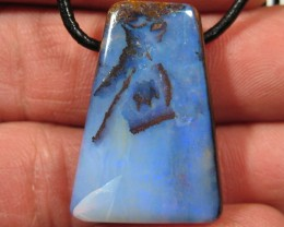 YowahOpals*53.40Cts 'Queensland' Boulder Opal - DRILLED -