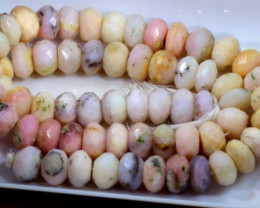 227 CTS OPAL  PINK OPAL FACETED  BEADS TBO-3725