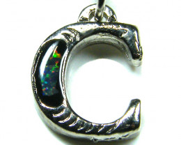MOBILE PHONE/ KEY RING OPAL ACCESSORY LETTER C  FREE SHIP
