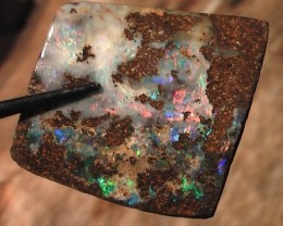 EXCELLENT COLORS BRIGHT REDS 'LARGE' BOULDER OPAL ROUGH