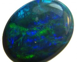 LOVELY LIGHTNING RIDGE BLACK OPAL 1.4CTS   (A73)