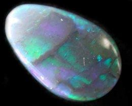 BLACK OPAL FREE FORM .90CT L1958