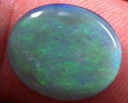 SOFT GREEN BLACK OPAL 5 CARATS L2075