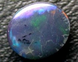 BLACK OPAL FIRE(MORE RED THAN IN PIC) .60CT L2053