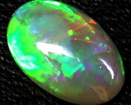 VIDEO BEAUTIFUL BRIGHT  CRYSTAL OPAL  .85 CARATS L2194