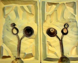 Rubber Moulding Handmade Designs SCO108