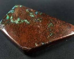 GREEN SHIMMER FLASH SOLID BOULDER OPAL 164 CTS GR979