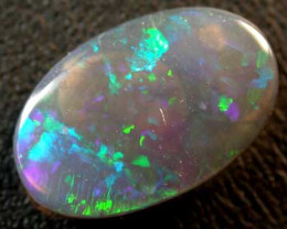 BLACK OPAL FLASH GREAT COLOUR .95CT L2312
