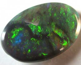 BLACK OPAL FIRE GREAT COLOUR .65CT L2323