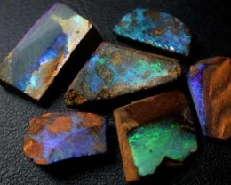 PACEL STUNNING RICH COLOURS ROUGH BOULDER OPAL 29.4CTS GR999