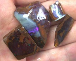 ROUGH BOULDER OPAL 4PC 92.5CT