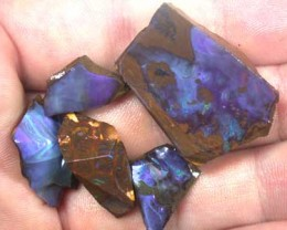 ROUGH BOULDER OPAL 5PC 85CT GR1118