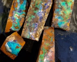ROUGH BOULDER OPAL  5PC 114CT GR1125