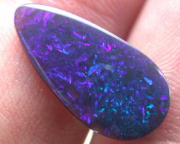 BLACK OPAL  GREEN BLUE MORE GREEN THAN PIC 2.55 CTS B346