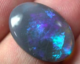 BLACK OPAL BLUE  FLASH 4.55CT B389