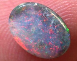 BLACK OPAL RED GEM FIRE .50CT B457