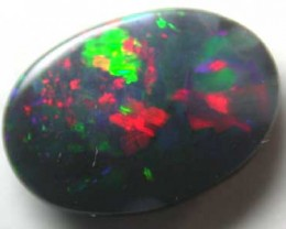 BLACK OPAL RED GEM FIRE .30CT B452