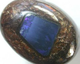 BOULDER OPAL WITH FIREY INLAY  [MP51]    23.40 CTS