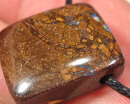 YowahOpals*21.70Cts *Aussie Opal - DRILLED PENDANT-