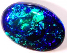 N1 9 CTS BLACK OPAL POLISHED STONE TBO-3167