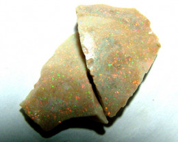 Untreated Andamooka Rough Opals  9cts  AS-1671