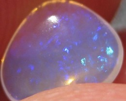 .72ct Brazilian freeform Blue Purple A886