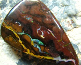 BEAUTIFUL PATTERN PICTURE- QUALITY KOROIT OPAL 62.45 CTS A1859