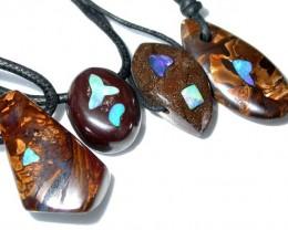 Parcel Boulder pendants