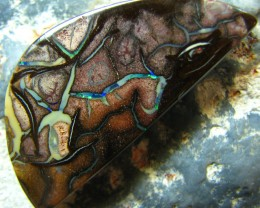 PATTERN / PICTURE STONE YOWAH OPAL 40.60 CTS A1911