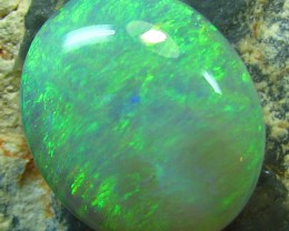BLACK OPAL FROM DOWN UNDER AUSTRALIA PERFECT CABOCHON 4.35