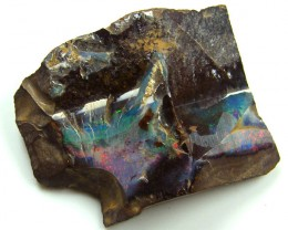 INTERESTING  BOULDER OPAL  74  CTS  MM 1412