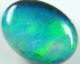 GREEN FLASH BLACK OPAL 0.75 CTS QOM 217