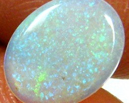 GREEN FLASH CRYSTAL OPAL 0.65 CTS  FOA 792