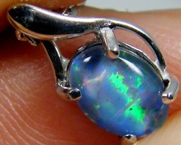 TRIPLET OPAL 18K GOLD PENDANT 2.10 CTS MYG 25