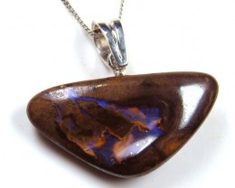 BEAUTIFUL BOULDER OPAL PENDANT 48.25 CTS MM 1459