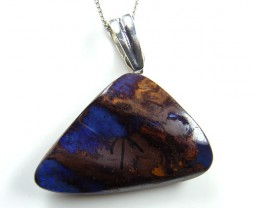 BEAUTIFUL BOULDER OPAL PENDANT 47.90 CTS MM 1463