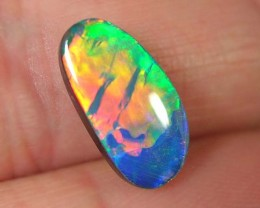 LIGHTNING RIDGE SELECT BLACK OPAL DOUBLET #GDO/218