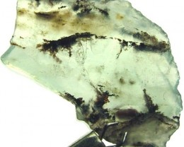 BLUE PERU OPAL-  WITH DENDRITIC INCLUSIONS 6.80 CTS VS 2324