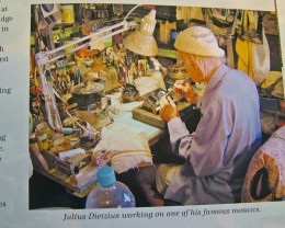 JULIUS DIETZIUS AT WORK