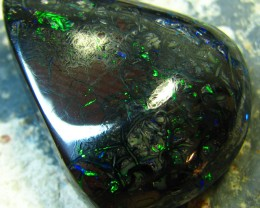 BEAUTIFUL GREEN BRIGHT FIRE IN THIS PIECE