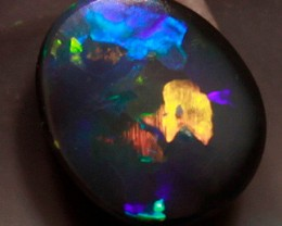 BEAUTIFUL BLACK OPAL FROM THE RIDGE- 0.45 CTS