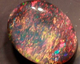 BEAUTIFUL BLACK OPAL FROM THE RIDGE- 0.85 CTS