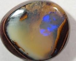 OpalWeb - Boulder Matrix Opal - Ring Stone  - 4.65Cts
