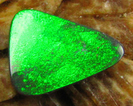 BRIGHTEST IRREDISCENT GEM GREEN FIRE OPAL  2.25CTS JO1152