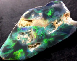GREEN BLUE CARVING PIECE  10.42 CTS N1 [R63]