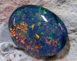 GENUINE  AUSTRALIAN OPAL TRIPLET 14 X 10   MM    GOA 255
