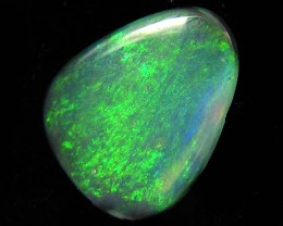 SHEEN GREEN BLACK  OPAL 1.55  CTS JO 1253